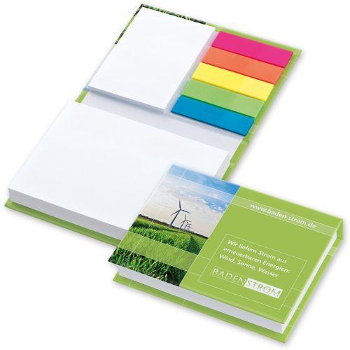 Haftnotiz Kombibuch White 100 x 72 mm