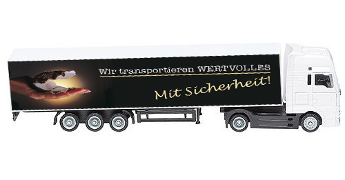 Mini MAN Truck Auflieger