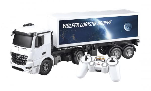 Mercedes Benz Funk Arocs Container Truck 1:20