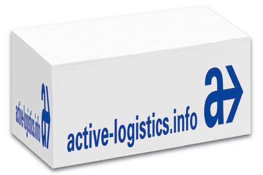 Papier-Containerblock 14 x 8 x 8 cm inkl. 1-fb. WA