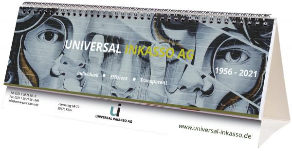 Schreibtischquerkalender SQ-Flip