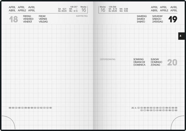 Handwerker-Notizkalender INT