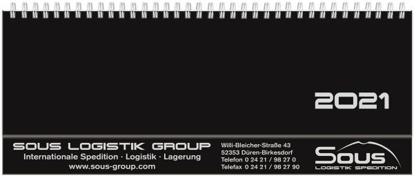 Schreibtischquerkalender Hardcover